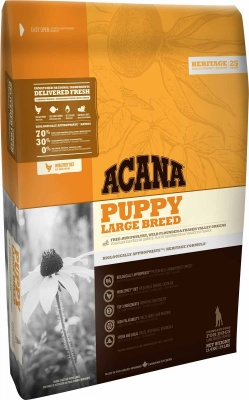 ACANA DOG HERITAGE PUPPY & JUNIOR LARGE BREED 11,4 KG.
