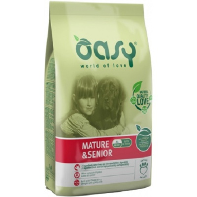 OASY DOG MATURE & SENIOR POLLO 3 KG.