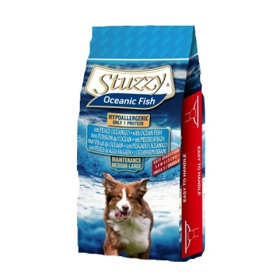 STUZZY DOG MAINTENANCE MEDIUM/LARGE PESCE OCEANICO 12 KG.